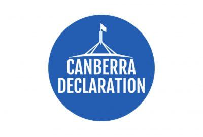 Canberra Declaration Image 2020