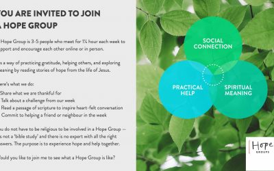 Hope Group Invitation - 2021